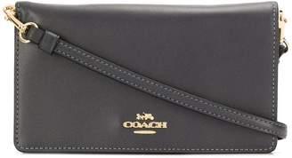 Coach foldover crossbody clutch