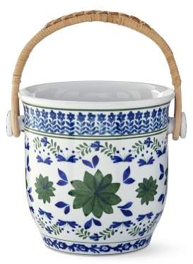 AERIN Ardsley Champagne Bucket with Woven Handle