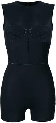 Maison Margiela skinny fit sleeveless bodysuit