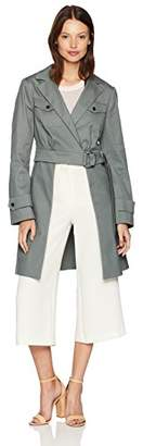 BCBGMAXAZRIA Women's Trench Jacket