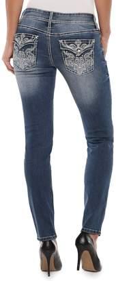 Apt. 9 Women's Embellished Straight-Leg Midrise Jeans
