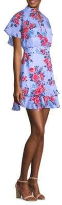 Parker Natalie Floral Mini Dress