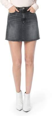 Joe's Jeans Bella Frayed Hem Denim Skirt