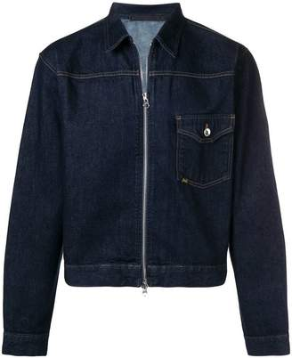 Tiger of Sweden zip denim jacket