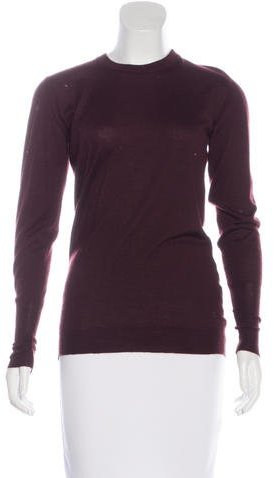 Chanel Chanel Cashmere & Silk-Blend Sweater