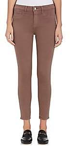 L'Agence Women's Margot Skinny Jeans-Pine Bark