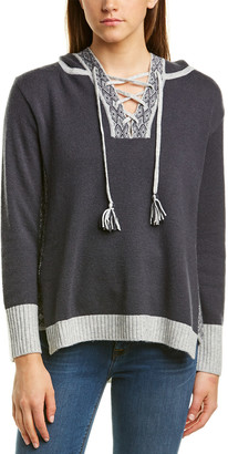 Hannah Rose Wool & Cashmere-Blend Sweater