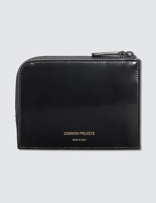 Common Projects Zipper Wallet Boxed Leather