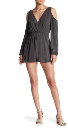Soprano Cold Shoulder Romper