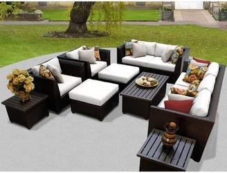 Rosecliff Heights Medley 12 Piece Sofa Seating Group with Cushions