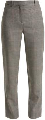 Givenchy Houndstooth wool-blend trousers