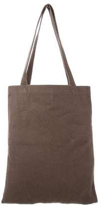 Rick Owens Logo-Embroidered Tote