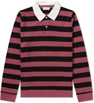 Saturdays NYC Sanders Stripe Rugby Shirt