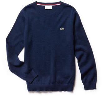 Lacoste (ラコステ) - Boys ウールジャージーセーター