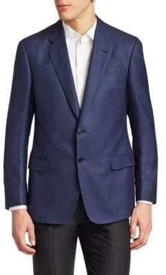 Giorgio Armani Houndstooth Sportcoat
