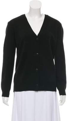 Alexander Wang Merino Wool Open Back Cardigan