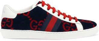 Gucci Women's Ace GG terry cloth sneaker