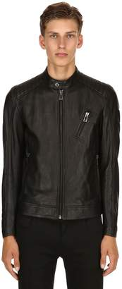 Belstaff V Racer Leather Moto Jacket