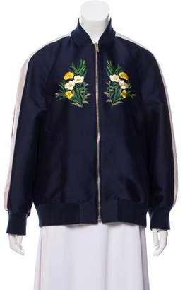 Stella McCartney Floral Athletic Jacket
