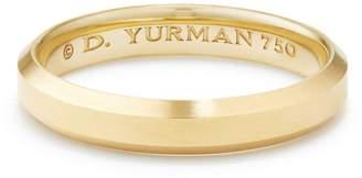 David Yurman Streamline Band Ring in 18K Gold