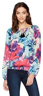 Desigual Women's Zazil Long Sleeve Blouse