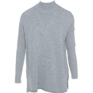Tory Burch Grey Wool Knitwear