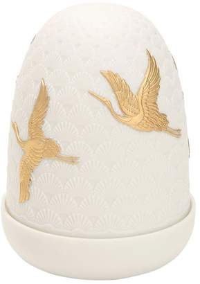 Lladro Cranes Dome Table Lamp