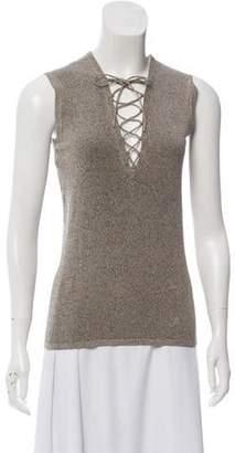 IRO Alidaspe Wool-Blend Top