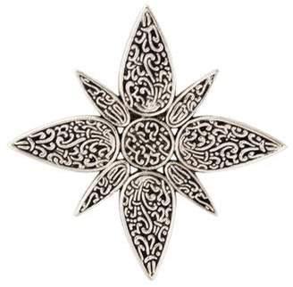 John Hardy Starburst Dress Clip Silver Starburst Dress Clip