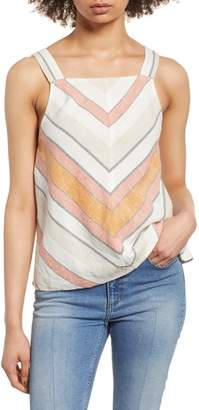 BP Stripe Linen Tank