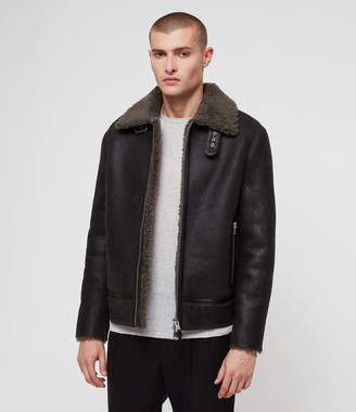 AllSaints Lowell Shearling Jacket