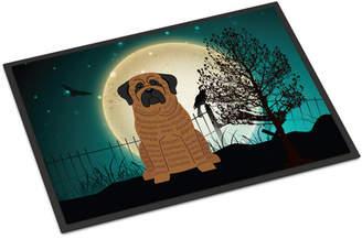 Caroline's Treasures Halloween Scary Mastiff Doormat Mat
