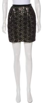 3.1 Phillip Lim Sequined Mini Skirt