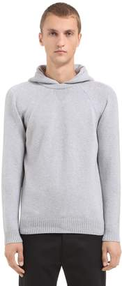 Modern Hooded Wool & Cashmere Sweater