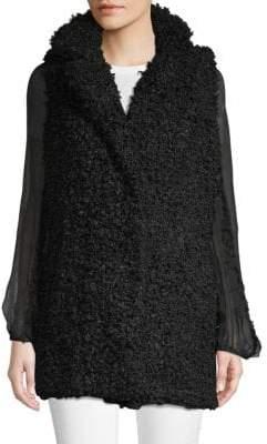 0ae9ef782e Vigoss Mongolian Faux-Fur Vest