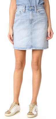 Levi's Everyday Skirt $70 thestylecure.com