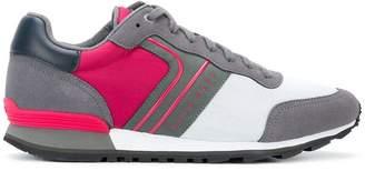 HUGO BOSS panelled sneakers
