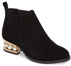 Jeffrey Campbell Women's Jeffrey Campbell Warr-Mp Pearly Orbed Chelsea Boot