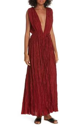 Mes Demoiselles Semsema Silk Crinkle Dress