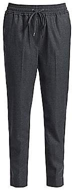 3.1 Phillip Lim Women's Wool-Blend Side Tape Track Pants