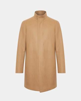 Theory Stretch Melton Belvin Coat