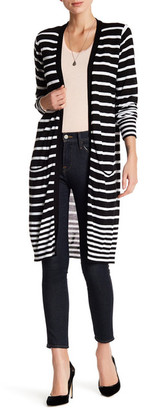 JOSEPH A Stripe Cardigan $68 thestylecure.com