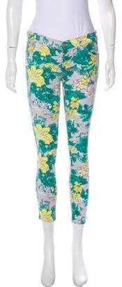 Elizabeth and James Low-Rise Floral Print Pants w/ Tags