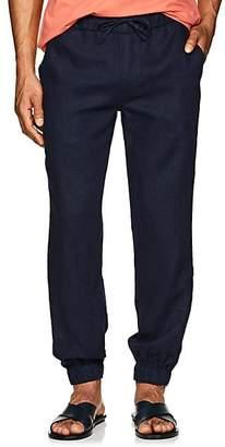 Onia Men's Rick Linen Jogger Pants - Navy