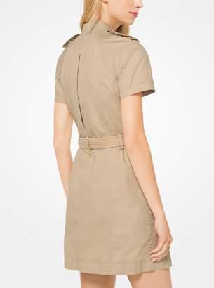 MICHAEL Michael Kors Twill Cargo Dress