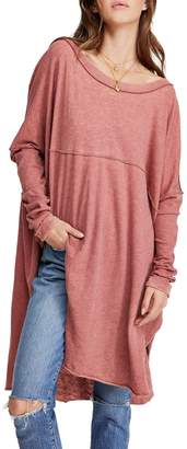 Free People Tell Tale Cotton Blend Tunic
