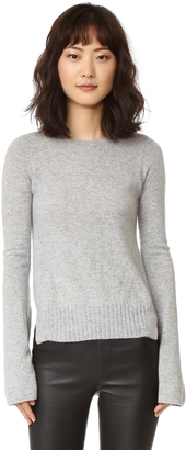 Autumn Cashmere Cashmere Bell Sleeve Sweater $330 thestylecure.com