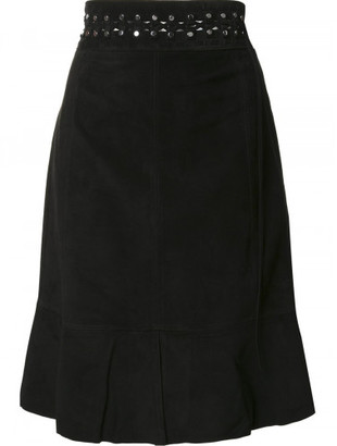 Proenza Schouler studded mid length skirt $2,250 thestylecure.com