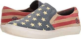 Roper Women's American Beauty Slip on Sneaker