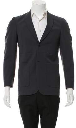 Marni Two-Button Shawl-Lapel Blazer